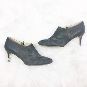 Miss Albright | Gray Ankle Heels